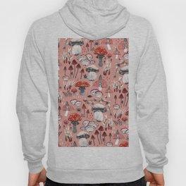 Fungi Farmer Land (Mushroom Land) - RED Hoody