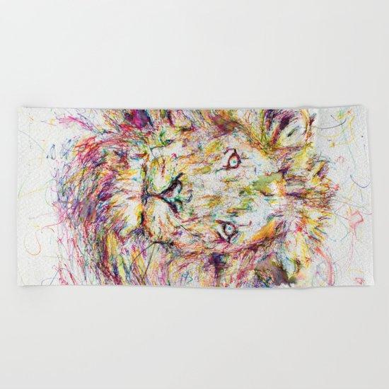 Lion // Tarmuk Beach Towel