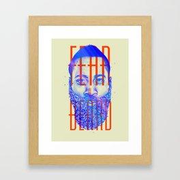 Fear the Beard Framed Art Print