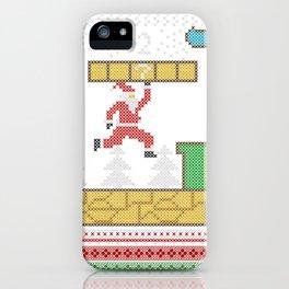 Mario Santa Claus iPhone Case