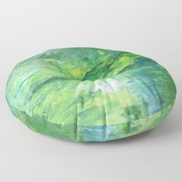 arrival at magithera Floor Pillow