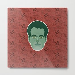 Raymond Stantz - Ghostbusters Metal Print