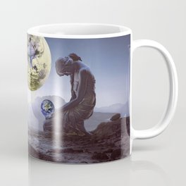 The World is in Our Hands Coffee Mug