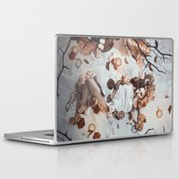 sleeping beauty Laptop & iPad Skins featuring Sleeping Beauty by Rose's Creation