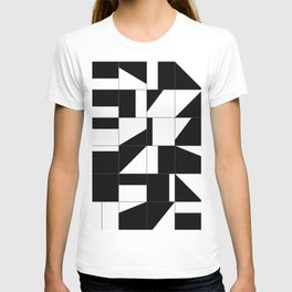 AGBW - Abstract, Geometric, Black & White T-shirt