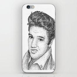 Elvis (Pointillism) iPhone Skin