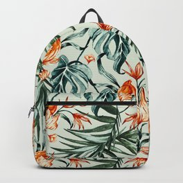 Exotic flower nature-07 Backpack