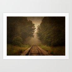 Rural Line Art Print