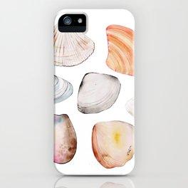 seven seashells iPhone Case