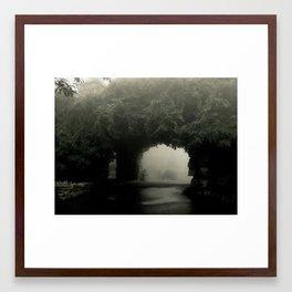 Pass Framed Art Print