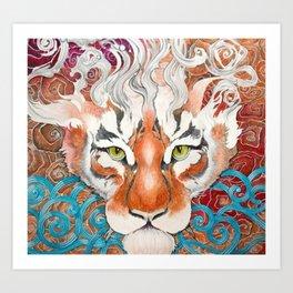 Cinnamon Buns and Dragons Art Print