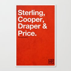 Mad Men | Sterling, Cooper, Draper & Price Canvas Print