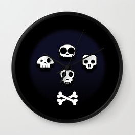 Easy come, easy go. Little high, little low. Wall Clock