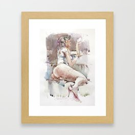 Budoir Framed Art Print