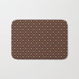 Honeycombs pattern Bath Mat