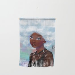 head in the cloud Wall Hanging