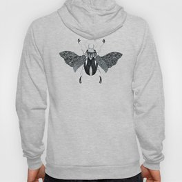 Beetle #4 B&W Hoody