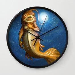 ANGLERFISH MAIDEN Wall Clock