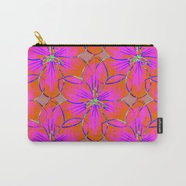 Flower Sketch 4 Carry-All Pouch