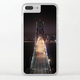 San Francisco Bay Bridge Clear iPhone Case