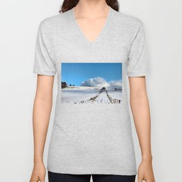 Rolling clouds in the peak district Unisex V-Neck