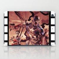captain iPad Cases featuring captain by Flo Zero