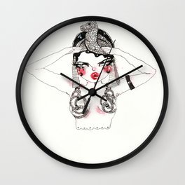 Ode To Theda Wall Clock