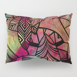 Crazy Leaves  Pillow Sham