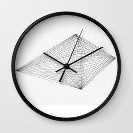 net diamant Wall Clock