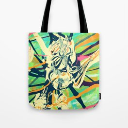 Spider Heart Tote Bag