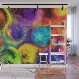 Abstracts in Color No 4, 2019 Wall Mural