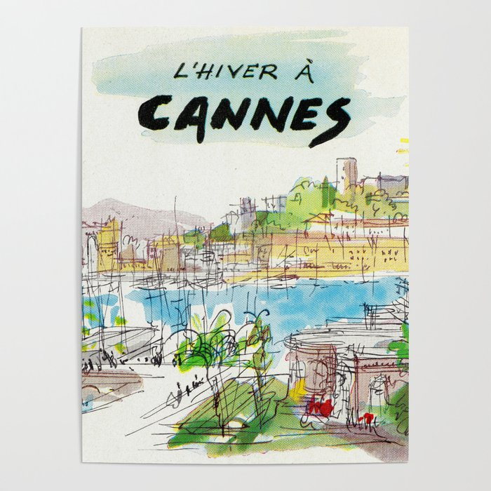Winter In Cannes Poster