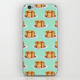 Pancakes & Dots Pattern iPhone Skin