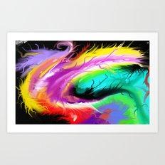Fuzz Art Print