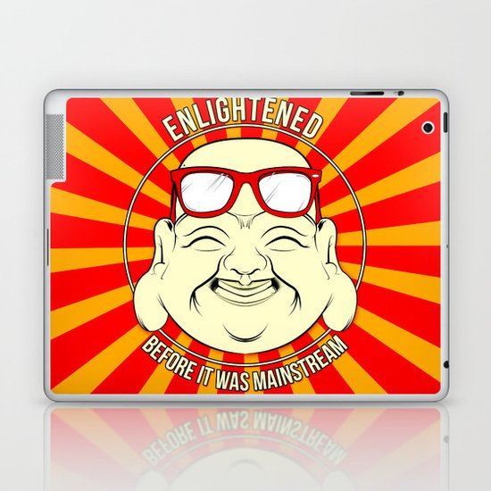 Hipster Budai Laptop & iPad Skin