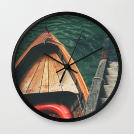 Next Stop: Adventure Wall Clock
