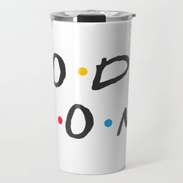 Doodle Mom in White Travel Mug
