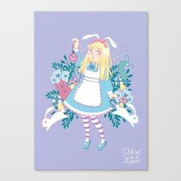 Oh Alice! Canvas Print