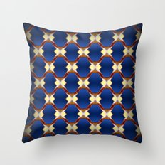 Stucco Paradise I Throw Pillow