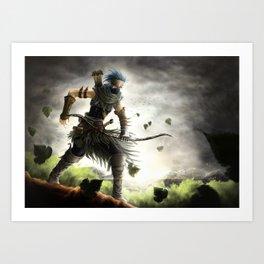 Ranger of the Numerian Woods Art Print