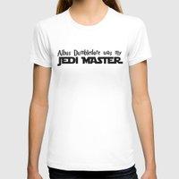 dumbledore T-shirts featuring Master Dumbledore by Leslie-Nanane Nanère