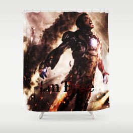 I'm Free. Iron Man Shower Curtain