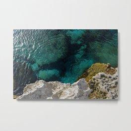 Cyprus Sea III Metal Print