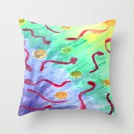 Biological Throw Pillow