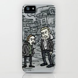 Linden and Holder iPhone Case