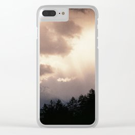 Alpes reality show (II) Clear iPhone Case