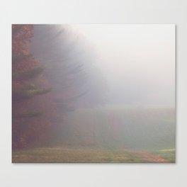 Red Fog Canvas Print