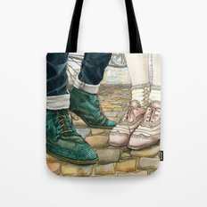 Brogues for a date Tote Bag