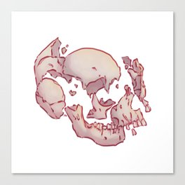 Brisé Canvas Print