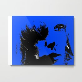 What's In A Face! Metal Print